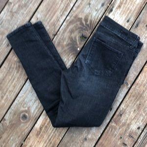 Kut From The Kloth Black Mia Toothpick Skinny Jean
